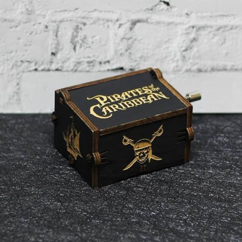 Pirates of the Caribbean Music Box