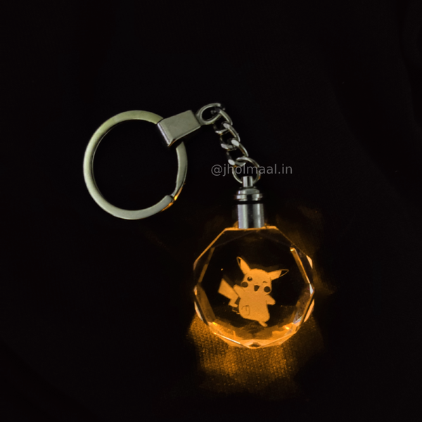 Pokemon LED Keychain Collectible