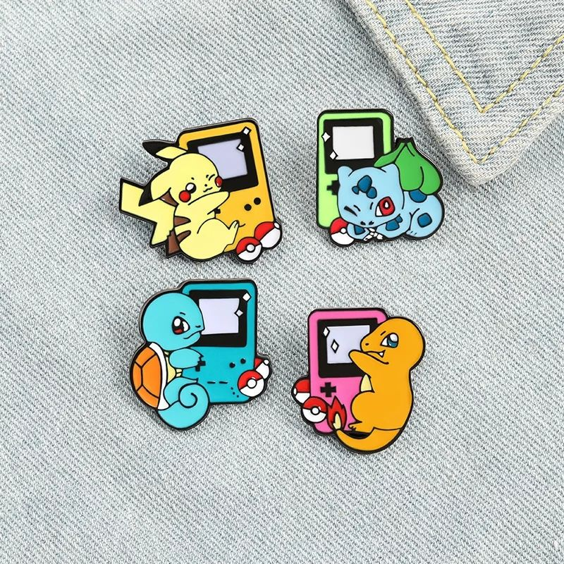 Pokemon Pokedex Lapel Pin Badge (1pc)