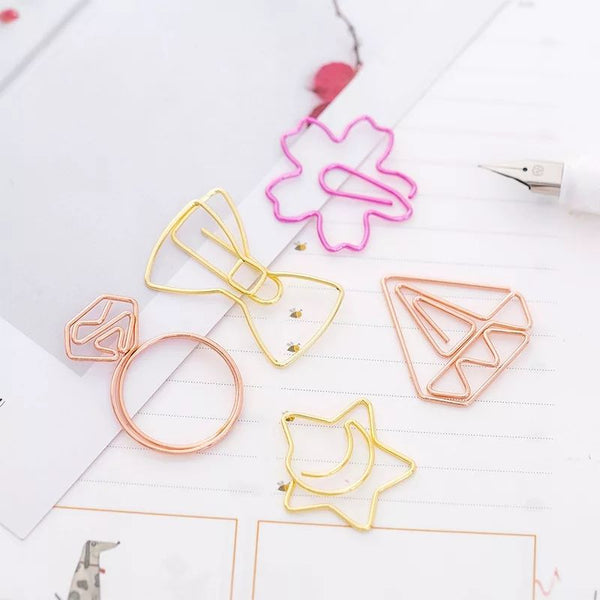Quirky Paper Clip Set Of 5