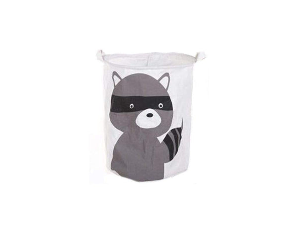 Raccoon Print Folding Laundry BasketThe Jholmaal Store