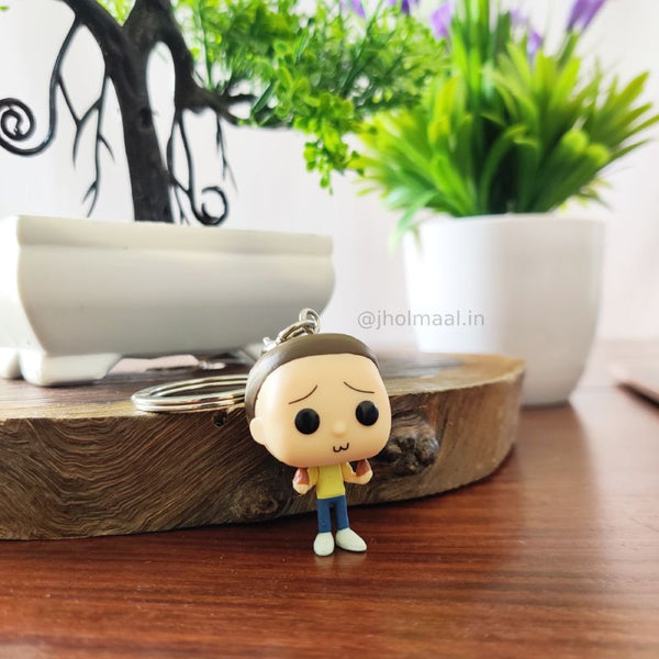 Rick & Morty Pop Keychain
