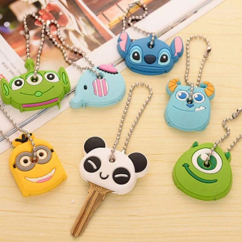 Cartoon Protective Cover For Keys (Silicone)