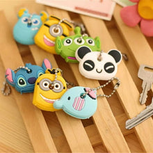 Load image into Gallery viewer, Cartoon Protective Cover For Keys (Silicone)