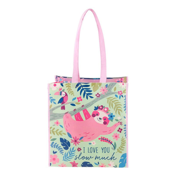 Eco-friendly Bag Sloth Print