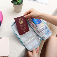 Load image into Gallery viewer, Travel Organiser Wallet With Card Case