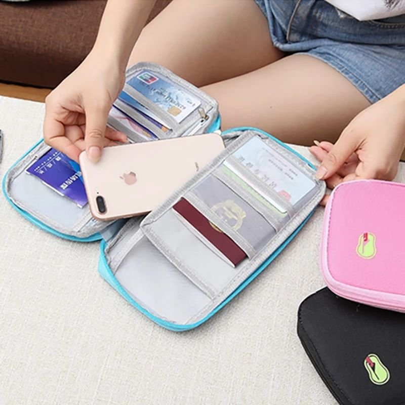 Travel Organiser Wallet With Card Case