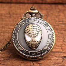 Load image into Gallery viewer, Spiderman Quartz Pocket Watch