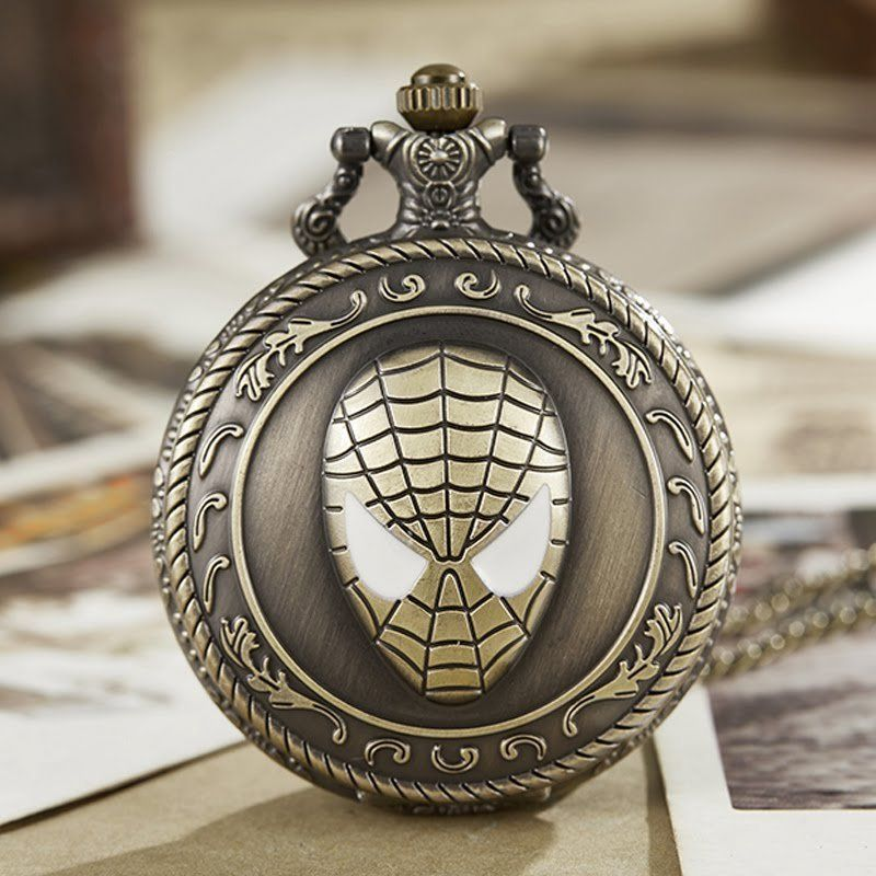 Spiderman Quartz Pocket Watch