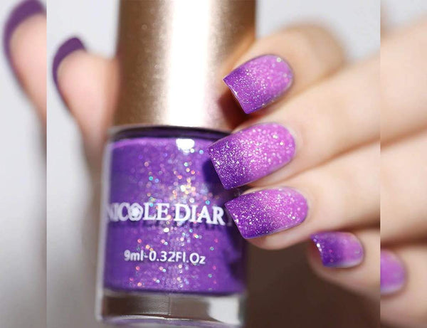 Color Changing Thermal Nailpaint (Pink-purple)The Jholmaal Store