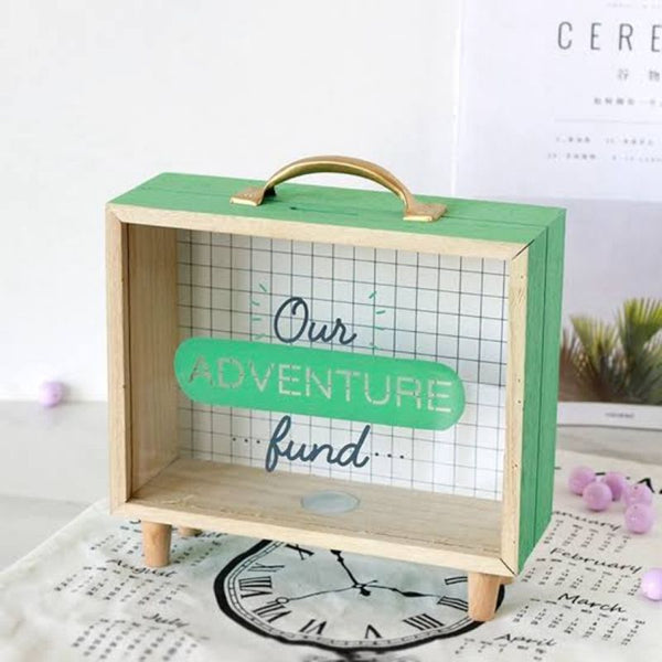 Travel & Adventure Fund Money Box