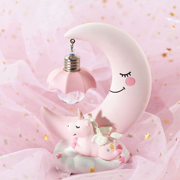 Unicorn Moon Lamp