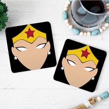 Load image into Gallery viewer, Wonderwoman Coasters (Set Of 4)