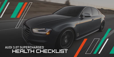 IE 3.0T Supercharged Engine Health Checklist