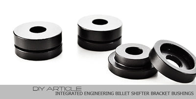 Integrated Engineering Billet Shifter Bracket Bushing Install