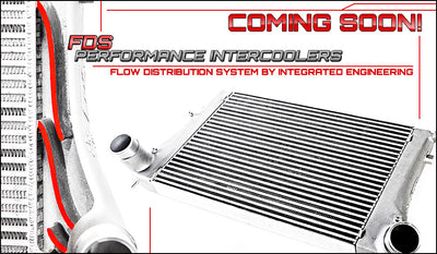 Integrated Engineering performance FDS intercooler technical info and features.