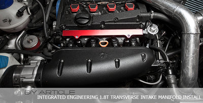 Integrated Engineering 1.8T Transverse Intake Manifold Install