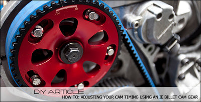 How to get the most out of your 1.8T with the IE Adjustable Cam Gear