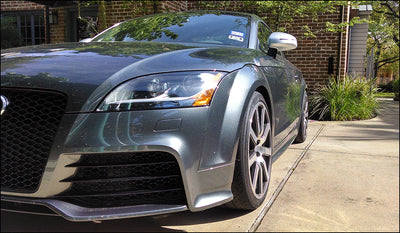 Jeff's Audi TT RS testimonial: Integrated Engineering VW MK5/MK6 Audi TT/A3 adjustable camber plates