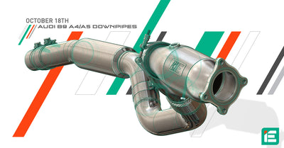 NEW IE Cast Downpipes for Audi B9 A4  & A5!