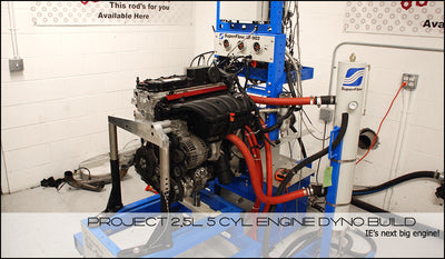 IE 2.5L 5 Cylinder Engine Dyno Project