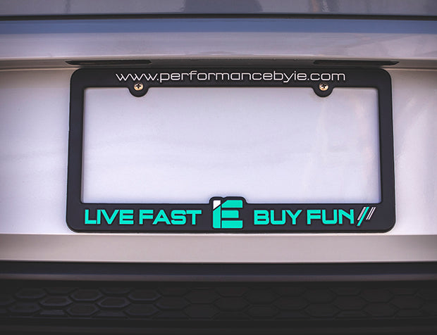 IE License Plate Frame