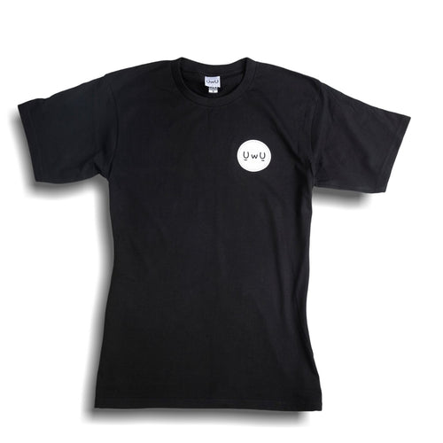 UwU Face Black T-Shirt