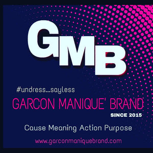 Garcon Manique' Brand hang tag