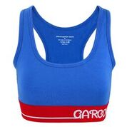 GMB Electric Blue Customized Sports Bra
