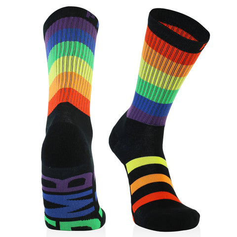 *NEW* GMB Black Signature Rainbow Socks