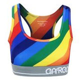 GMB Rainbow Flow Customized Sports Bra