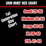 GMB Artic White Customized Briefs