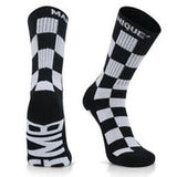 GMB Charcoal Black Customized Block Style Sport Socks