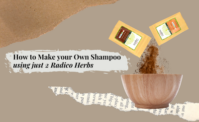 How to Make your Own Shampoo using 2 Radico Herbs