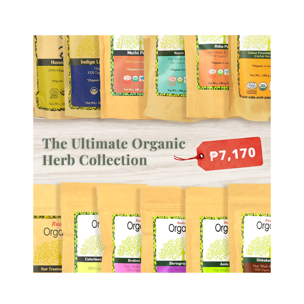The Ultimate Organic Herb Collection