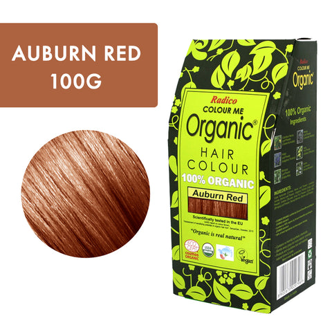 Radico Colour Me Organic Auburn Red
