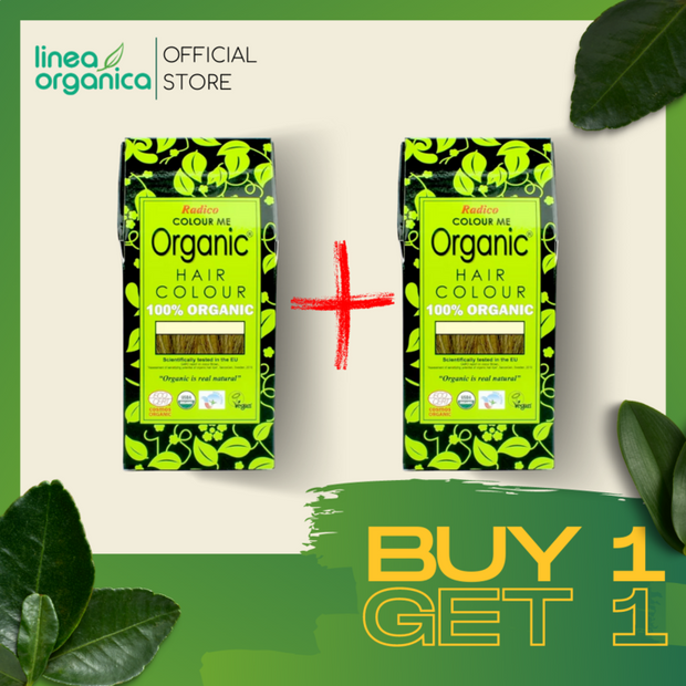 RADICO Organic Hair Color - Buy 1 Get 1 Promo