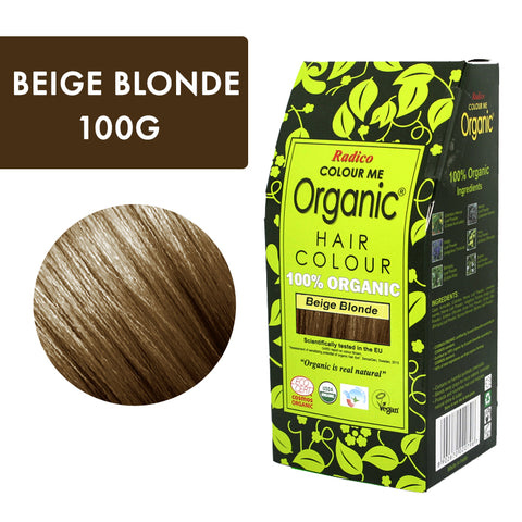 RADICO ORGANIC HAIR COLOUR Beige Blonde