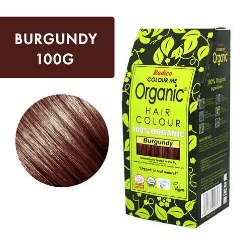 Radico Colour Me Organic Burgundy