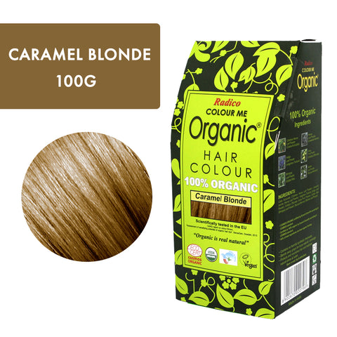 RADICO ORGANIC HAIR COLOUR Caramel Blonde