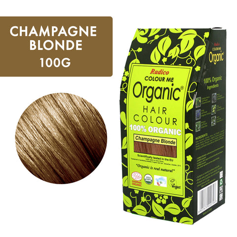 RADICO ORGANIC HAIR COLOUR Champagne Blonde