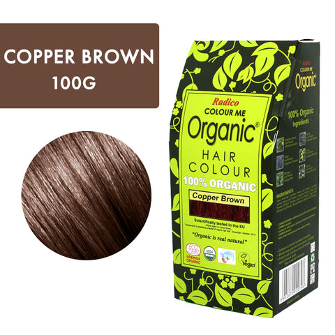 Radico Colour Me Organic Copper Brown
