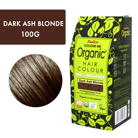 RADICO ORGANIC HAIR COLOUR Dark Ash Blonde