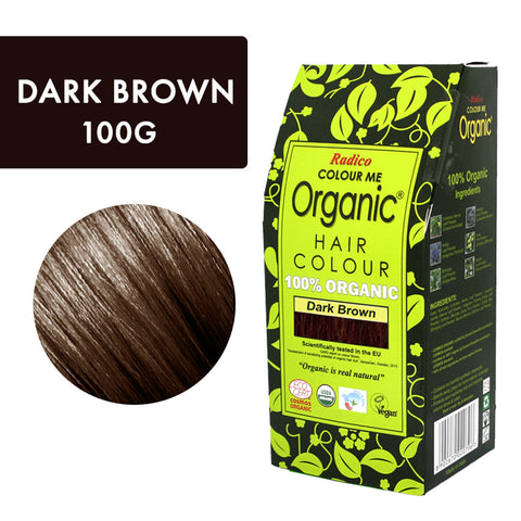 Radico Colour Me Organic Dark Brown