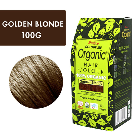 RADICO ORGANIC HAIR COLOUR Golden Blonde