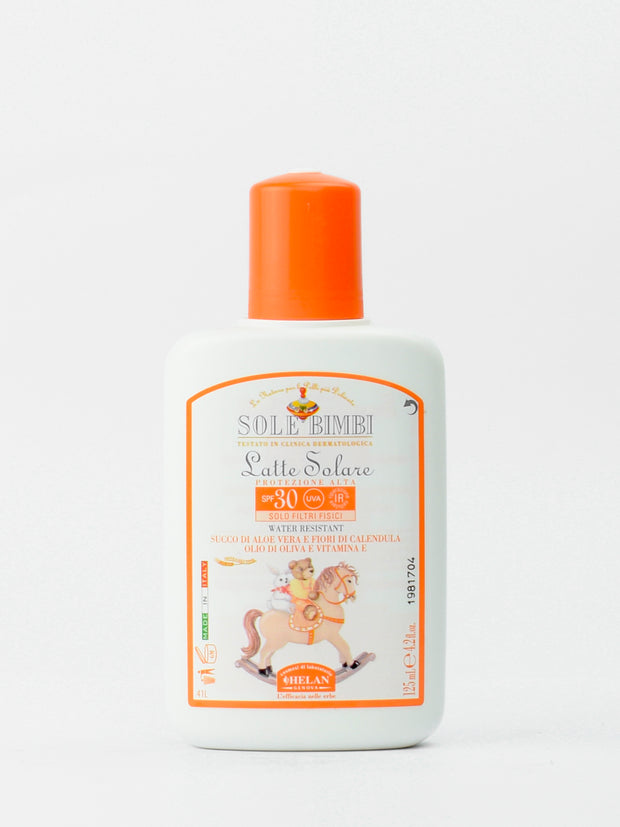 SOLE BIMBI Sun Care Milk SPF 30+