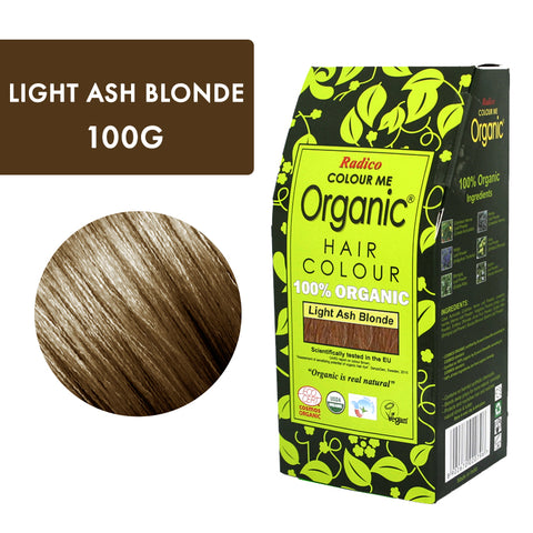 RADICO ORGANIC HAIR COLOUR Light Ash Blonde