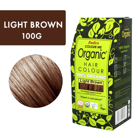 RADICO ORGANIC HAIR COLOUR Light Brown