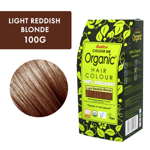 Radico Colour Me Organic Light Reddish Blonde