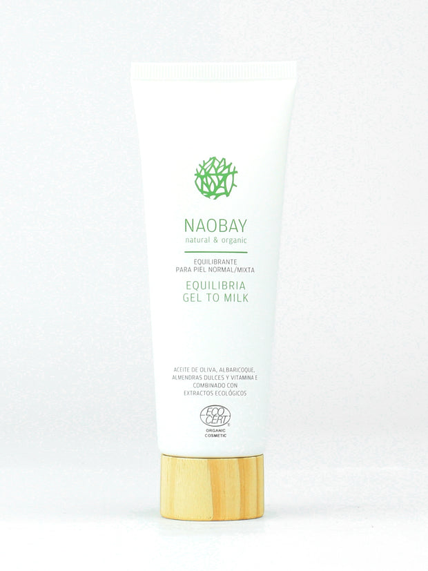 NAOBAY Equilibria Line – Gel to Milk Cleanser